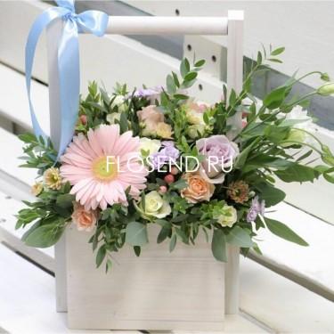 Цветы в коробке № 171